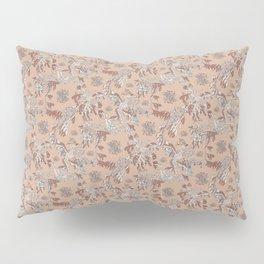 Water Swingers in Malaga ( leafy sea dragon pattern in coral ) Pillow Sham