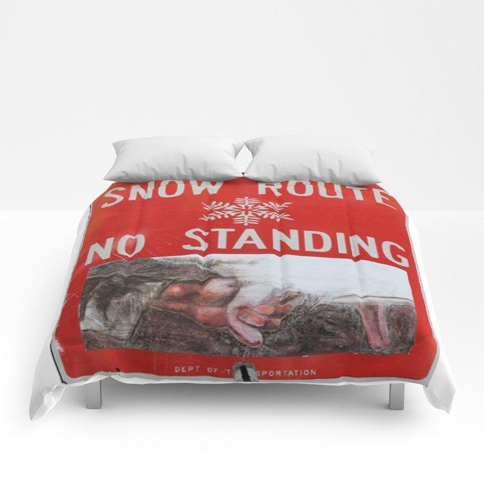 Snow-Den; by, JAco Comforters