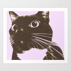 The Cat Possessed Art Print