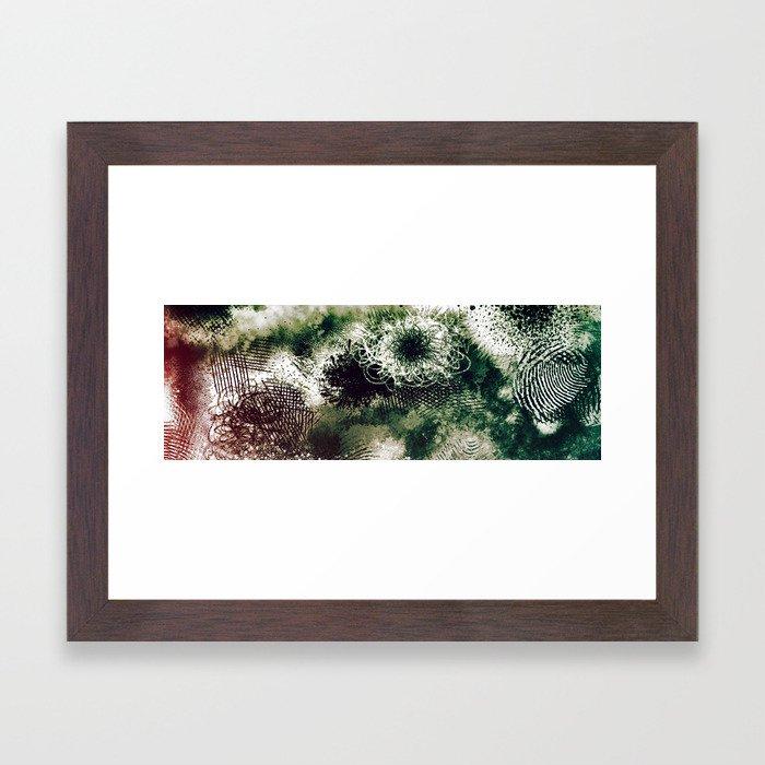 Eyes Still Clouded Framed Art Print