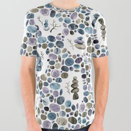 Wishing stones and cairns All Over Graphic Tee