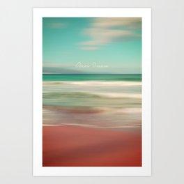 Ocean Dream IV Art Print