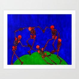 Red Dance, after Matisse Art Print