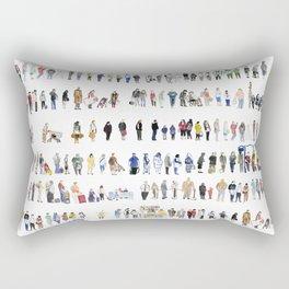 Major Queuing Rectangular Pillow