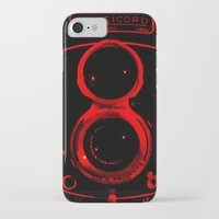 vintage camera iPhone & iPod Cases featuring Camera by short stories gallery