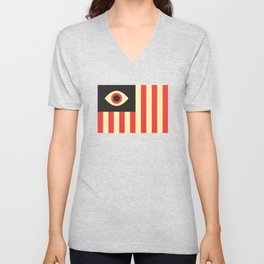 Stares and Stripes Unisex V-Neck