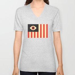 Stares and Stripes Unisex V-Neck