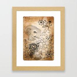Materia I Framed Art Print