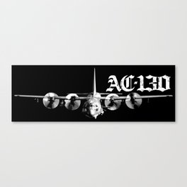 AC-130 Canvas Print