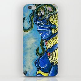 octopus woman iPhone Skin
