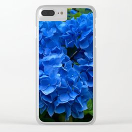 The deepest blue Clear iPhone Case