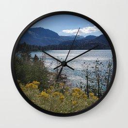 The Wildflowers of June Lake Wall Clock