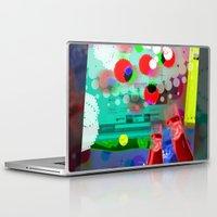 darwin Laptop & iPad Skins featuring DARWIN DNA by DARWIN STEAD
