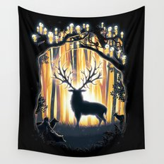 Master of the Forest Wall Tapestry