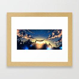Junkyard Angel Framed Art Print