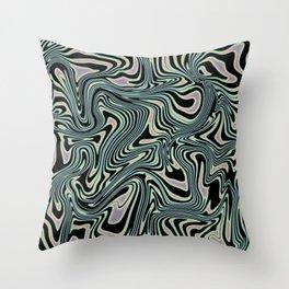 TIME KEEPS ON SLIPPIN' Throw Pillow