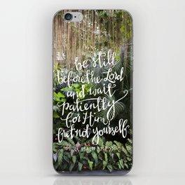 Be Still  //  Psalm 37:7 iPhone Skin
