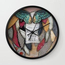 Choose a Beauty Full Life Wall Clock