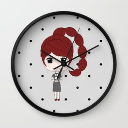 Scorpio Girl Wall Clock