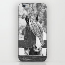 I am Watching You in BW iPhone Skin