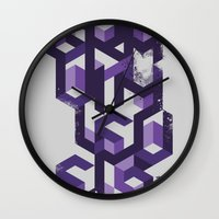deadmau5 Wall Clocks featuring Gravity Levels - Geometry by Sitchko Igor