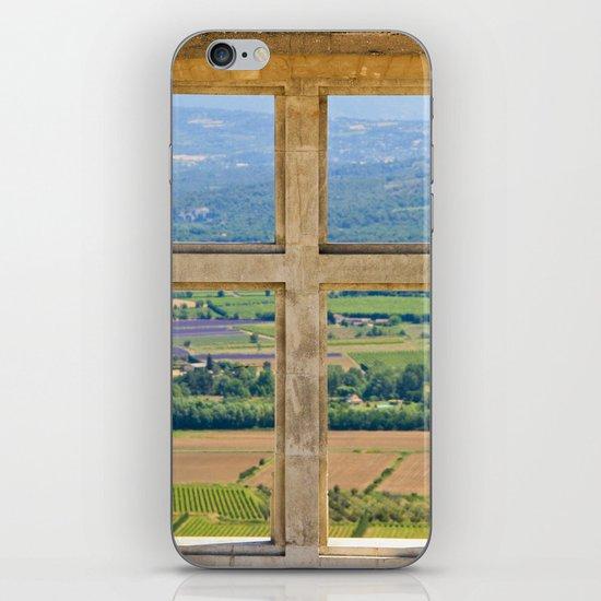 Window To The Luberon iPhone & iPod Skin