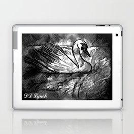 Swan Reflection  Laptop & iPad Skin