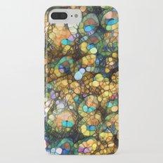 Peacock Rainbow Glitter Slim Case iPhone 7 Plus