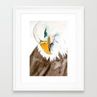 study Framed Art Prints featuring Study by Caballos of Colour