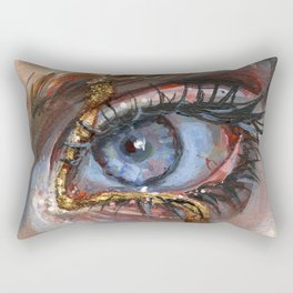 Gilded Rectangular Pillow