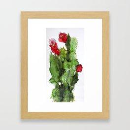 Qui s'y frotte s'y pique _1 Framed Art Print