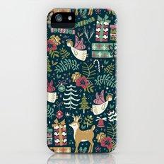 Christmas Joy iPhone (5, 5s) Slim Case