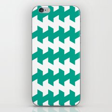 jaggered and staggered in emerald iPhone & iPod Skin