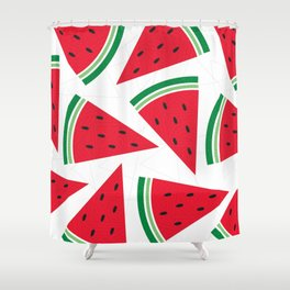 Watermelon. Shower Curtain