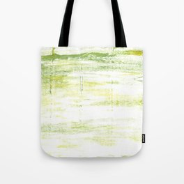 Gentle green abstract Tote Bag