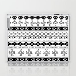 Black & White Primitive Pattern Laptop & iPad Skin