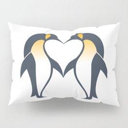 Kissing penguins Pillow Sham