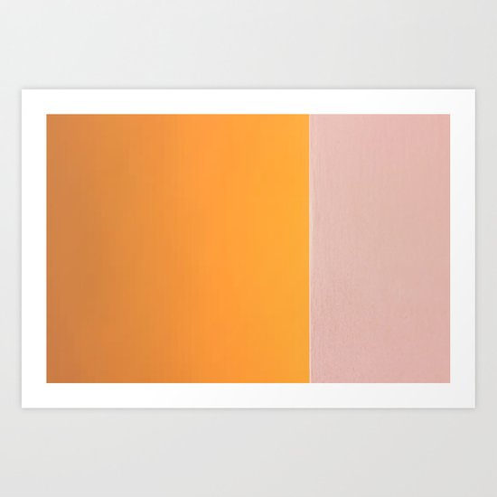 On an Edge 1/4 Art Print
