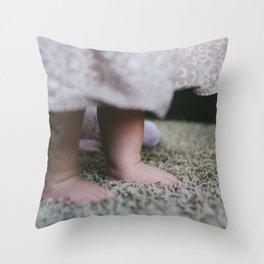 little babe Throw Pillow