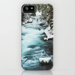 The Wild McKenzie River - Nature Photography iPhone Case
