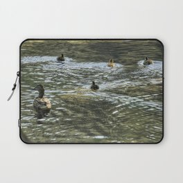 Mother Mallard and her Brood, No. 3 Laptop Sleeve
