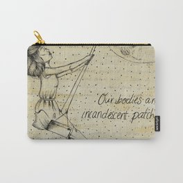 Our Bodies Are Incadescent Patchwork Carry-All Pouch