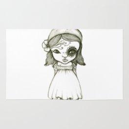 Tattooed Girl Rug