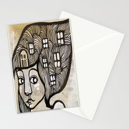 house wife Stationery Cards