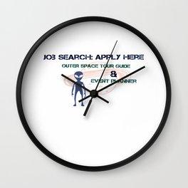 Job Search Wall Clock