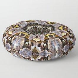 Mushroom Mandala Floor Pillow