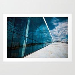OPERA HOUSE OSLO Art Print