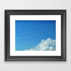 Trapeze Artists Framed Art Print