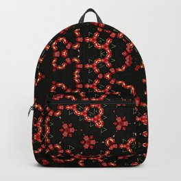 Summer red poppies flowers Backpack