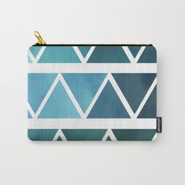 Triangles Two Carry-All Pouch